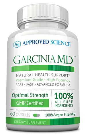 Garcinia MD ingredients bottle